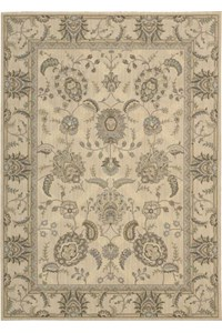 Capel Rugs Creative Concepts Cane Wicker - Paddock Shawl Mineral (310) Rectangle 3' x 5' Area Rug