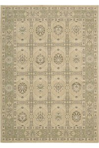 Capel Rugs Creative Concepts Cane Wicker - Shoreham Spray (410) Rectangle 3' x 5' Area Rug