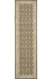 Capel Rugs Creative Concepts Cane Wicker - Canvas Sun Tile (612) Rectangle 3' x 5' Area Rug