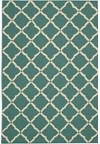Capel Rugs Creative Concepts Cane Wicker - Tuscan Stripe Adobe (825) Rectangle 3' x 5' Area Rug