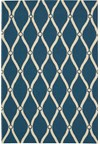 Capel Rugs Creative Concepts Cane Wicker - Canvas Parrot (247) Rectangle 4' x 4' Area Rug