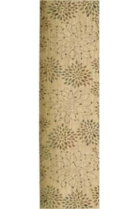 Capel Rugs Creative Concepts Cane Wicker - Bamboo Rattan (706) Rectangle 4' x 4' Area Rug