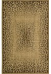 Capel Rugs Creative Concepts Cane Wicker - Paddock Shawl Persimmon (810) Rectangle 4' x 4' Area Rug