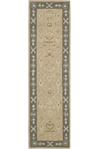 Capel Rugs Creative Concepts Cane Wicker - Canvas Wheat (167) Rectangle 4' x 6' Area Rug