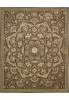 Capel Rugs Creative Concepts Cane Wicker - Cayo Vista Mojito (215) Rectangle 4' x 6' Area Rug
