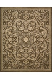 Capel Rugs Creative Concepts Cane Wicker - Vierra Spa (217) Rectangle 4' x 6' Area Rug
