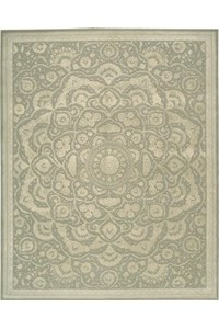 Capel Rugs Creative Concepts Cane Wicker - Vierra Kiwi (228) Rectangle 4' x 6' Area Rug