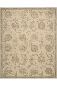 Capel Rugs Creative Concepts Cane Wicker - Granite Stripe (335) Rectangle 4' x 6' Area Rug