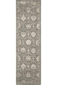 Capel Rugs Creative Concepts Cane Wicker - Canvas Charcoal (355) Rectangle 4' x 6' Area Rug