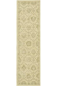 Capel Rugs Creative Concepts Cane Wicker - Shoreham Spray (410) Rectangle 4' x 6' Area Rug