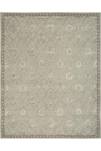 Capel Rugs Creative Concepts Cane Wicker - Capri Stripe Breeze (430) Rectangle 4' x 6' Area Rug