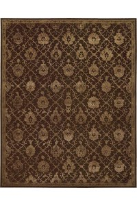 Capel Rugs Creative Concepts Cane Wicker - Paddock Shawl Indigo (475) Rectangle 4' x 6' Area Rug