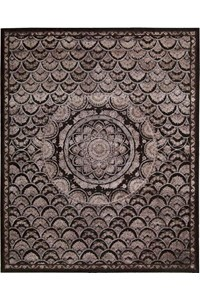 Capel Rugs Creative Concepts Cane Wicker - Canvas Ivory (605) Rectangle 4' x 6' Area Rug