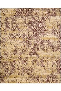 Capel Rugs Creative Concepts Cane Wicker - Dupione Bamboo (100) Rectangle 5' x 8' Area Rug