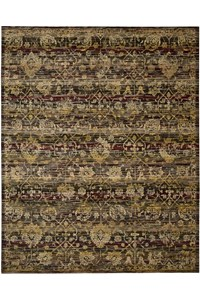 Capel Rugs Creative Concepts Cane Wicker - Canvas Citron (213) Rectangle 5' x 8' Area Rug