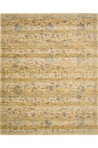 Capel Rugs Creative Concepts Cane Wicker - Shoreham Spray (410) Rectangle 5' x 8' Area Rug