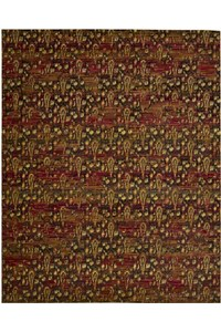 Capel Rugs Creative Concepts Cane Wicker - Bahamian Breeze Ocean (420) Rectangle 5' x 8' Area Rug