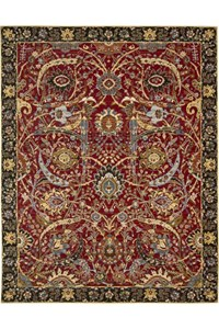 Capel Rugs Creative Concepts Cane Wicker - Brannon Whisper (422) Rectangle 5' x 8' Area Rug