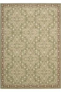 Capel Rugs Creative Concepts Cane Wicker - Vierra Brick (530) Rectangle 5' x 8' Area Rug