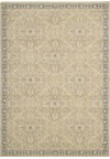 Capel Rugs Creative Concepts Cane Wicker - Canvas Sun Tile (612) Rectangle 5' x 8' Area Rug