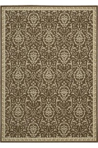 Capel Rugs Creative Concepts Cane Wicker - Arden Chocolate (746) Rectangle 5' x 8' Area Rug