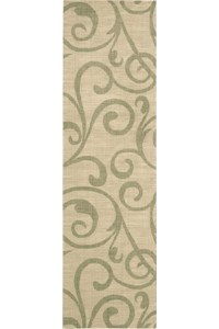 Capel Rugs Creative Concepts Cane Wicker - Canvas Bay Brown (787) Rectangle 5' x 8' Area Rug