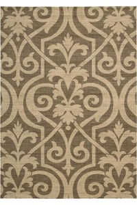 Capel Rugs Creative Concepts Cane Wicker - Bamboo Cinnamon (856) Rectangle 5' x 8' Area Rug