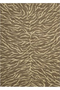 Capel Rugs Creative Concepts Cane Wicker - Cayo Vista Tea Leaf (210) Rectangle 6' x 6' Area Rug