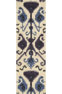 Capel Rugs Creative Concepts Cane Wicker - Fortune Lava (394) Rectangle 6' x 6' Area Rug