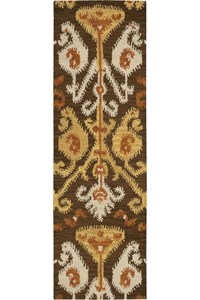 Capel Rugs Creative Concepts Cane Wicker - Kalani Ocean (417) Rectangle 6' x 6' Area Rug