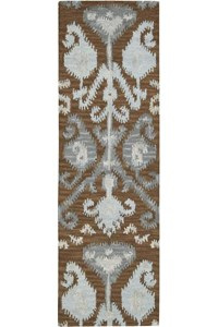 Capel Rugs Creative Concepts Cane Wicker - Cayo Vista Ocean (425) Rectangle 6' x 6' Area Rug