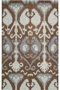 Capel Rugs Creative Concepts Cane Wicker - Canvas Spa Blue (427) Rectangle 6' x 6' Area Rug