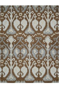 Capel Rugs Creative Concepts Cane Wicker - Vera Cruz Ocean (445) Rectangle 6' x 6' Area Rug