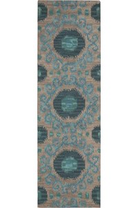 Capel Rugs Creative Concepts Cane Wicker - Heritage Denim (447) Rectangle 6' x 6' Area Rug