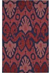 Capel Rugs Creative Concepts Cane Wicker - Canvas Coral (505) Rectangle 6' x 6' Area Rug