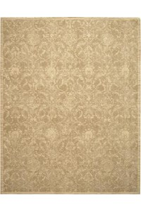 Capel Rugs Creative Concepts Cane Wicker - Canvas Brick (850) Rectangle 6' x 6' Area Rug