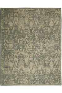 Capel Rugs Creative Concepts Cane Wicker - Canvas Brass (180) Rectangle 9' x 12' Area Rug