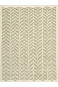 Capel Rugs Creative Concepts Cane Wicker - Canvas Sun Tile (612) Rectangle 9' x 12' Area Rug