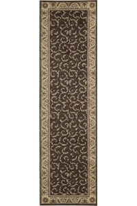 Capel Rugs Creative Concepts Cane Wicker - Java Journey Henna (580) Rectangle 10' x 10' Area Rug
