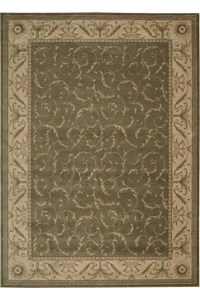 Capel Rugs Creative Concepts Cane Wicker - Canvas Canary (137) Rectangle 10' x 14' Area Rug