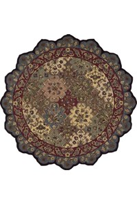 Capel Rugs Creative Concepts Cane Wicker - Cayo Vista Tea Leaf (210) Rectangle 10' x 14' Area Rug