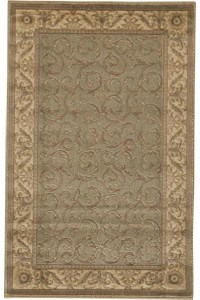Capel Rugs Creative Concepts Cane Wicker - Shoreham Kiwi (220) Rectangle 10' x 14' Area Rug