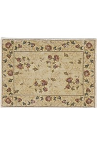 Capel Rugs Creative Concepts Cane Wicker - Canvas Sapphire Blue (487) Rectangle 10' x 14' Area Rug