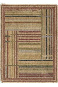 Capel Rugs Creative Concepts Cane Wicker - Couture King Chestnut (756) Rectangle 10' x 14' Area Rug