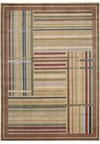 Capel Rugs Creative Concepts Cane Wicker - Tuscan Vine Adobe (830) Rectangle 10' x 14' Area Rug