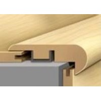 "Shaw Caribbean Vue: Stair Nose Cherry Woodlands - 94"" Long"