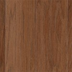 "Mohawk Warrenton: Hickory Thrasher Brown 3/8"" x 3"" Engineered Hardwood WEC38 92"