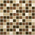 "Daltile Mosaic Traditions: Desert Dune 1"" x 1"" Glass Mosaic Tile BP94-11MS1P"