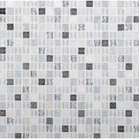 "Daltile Marvel: Opal 5/8"" x 5/8"" Glass Mosaic Tile MV24-5858MS1P"