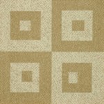 "Milliken Legato Fuse: Casual Cream 19.7"" x 19.7"" Carpet Tile 620"